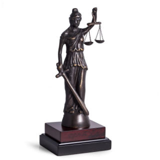 Justice Blind Lady Sculpture