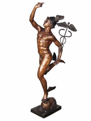 Flying Mercury Statue By Giambologna 64