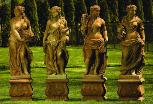 Four Seasons Life-Size Set of four Greek or Roman