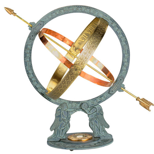 Williamsburg Greenwich Armillary Sphere Garden Decor