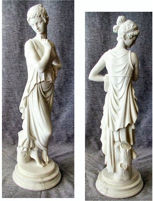 Dancer By Canova Sculpture Statuary