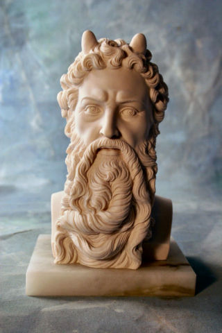 Moses Bust By Michelangelo Sculpture 8