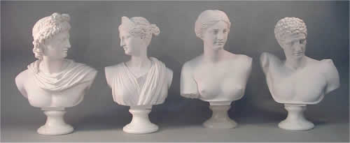 Roman Antiquity Sculptural Busts