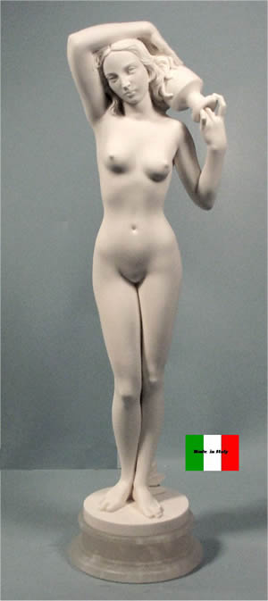 Sculpture Source By Ingres Sculpted Marble Statue