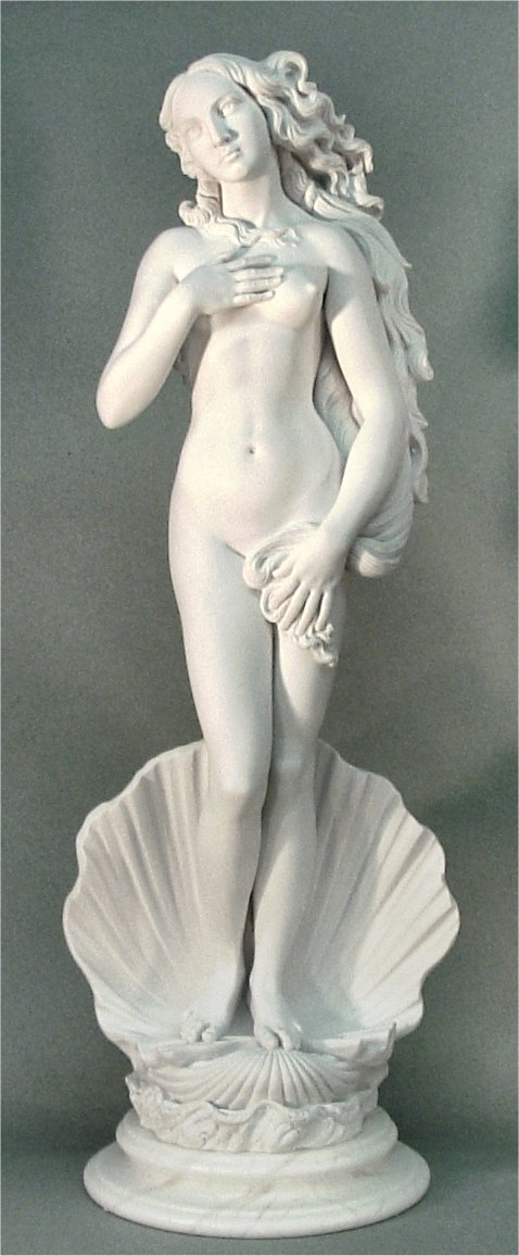 Sculpture of Birth of Venus Statue Marble Replica