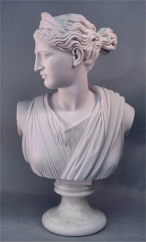 Bust Of Diana The Huntress