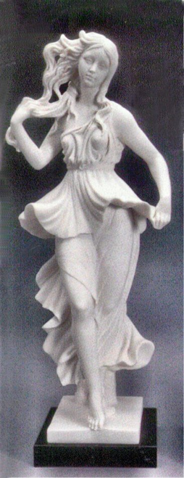 Dancer By Botticelli Sculpture