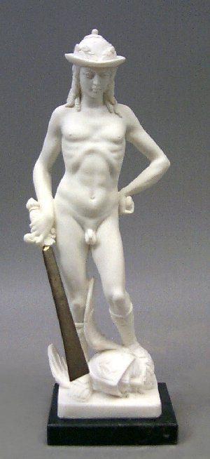 David By Donatello Sculpture Sculptor Marble