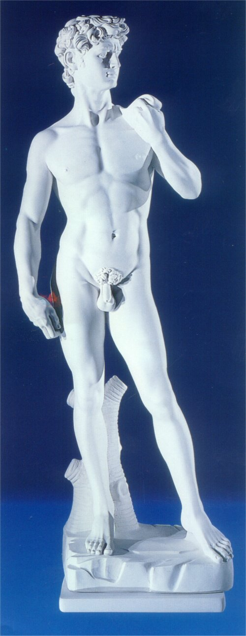 David By Michelangelo Marble Sculpture Large Reproduction