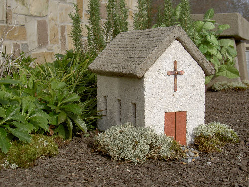 Village Church Sculptural Garden Decor