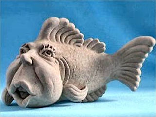 Dorothy Fish Sculpture by Sculptor Carruth