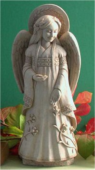 Hope Angel Sculpture By Carruth Wall Plaque Sculpture