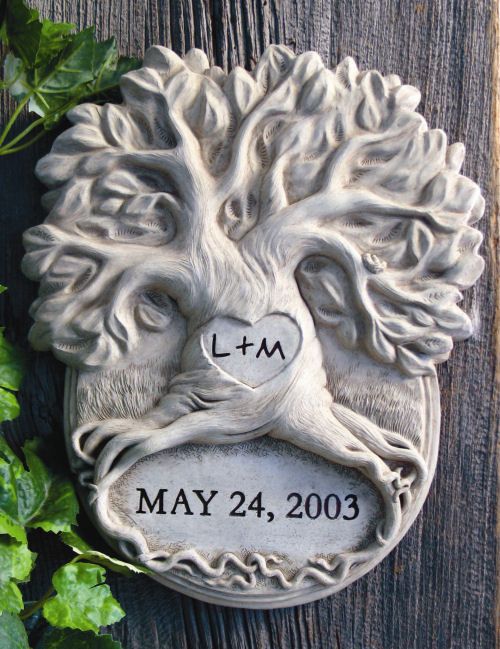 Anniversary Tree Engravable Sculptural Wall Hanging