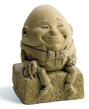 Egbert Humpty Dumpty Sculpture