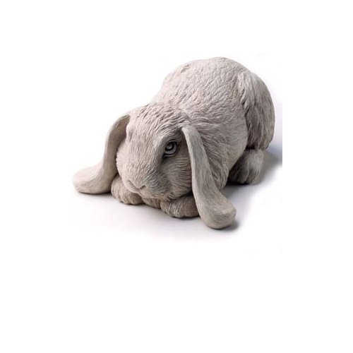 Bashful Bunny Sculpture By Carruth