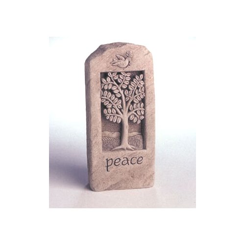 Peace Stone Sculpture and Wall Plaque