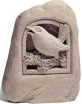 Woodland Songbird Sculpture Or Wall Plaque