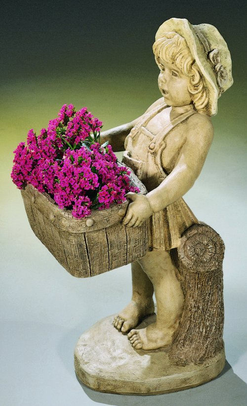 Flower Girl Planter Sculptural Urn