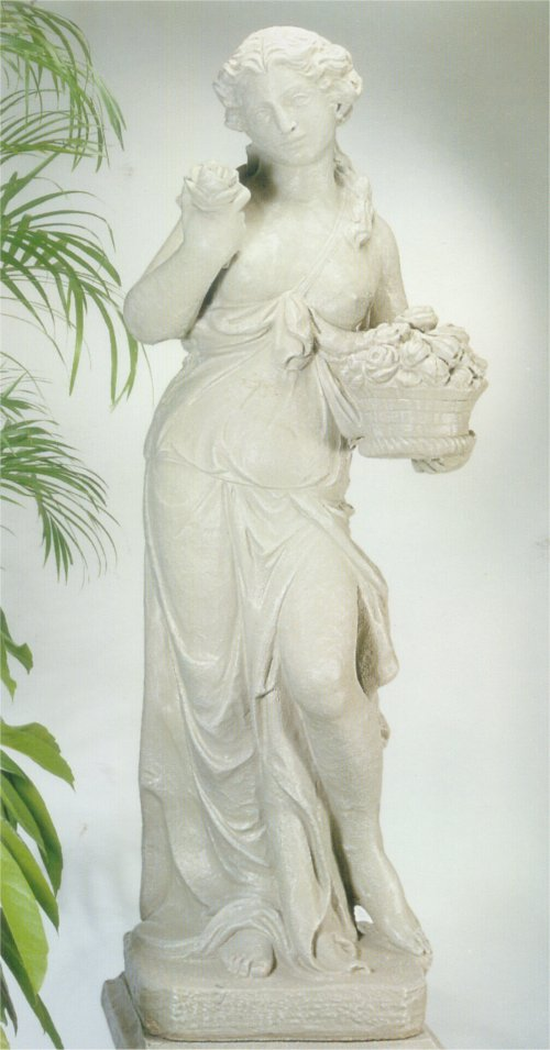 Persephone Greek Goddess Life-size Cement Sculpture