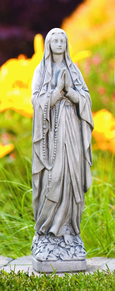 Shrine of Our Lady of Lourdes Garden Sculpture