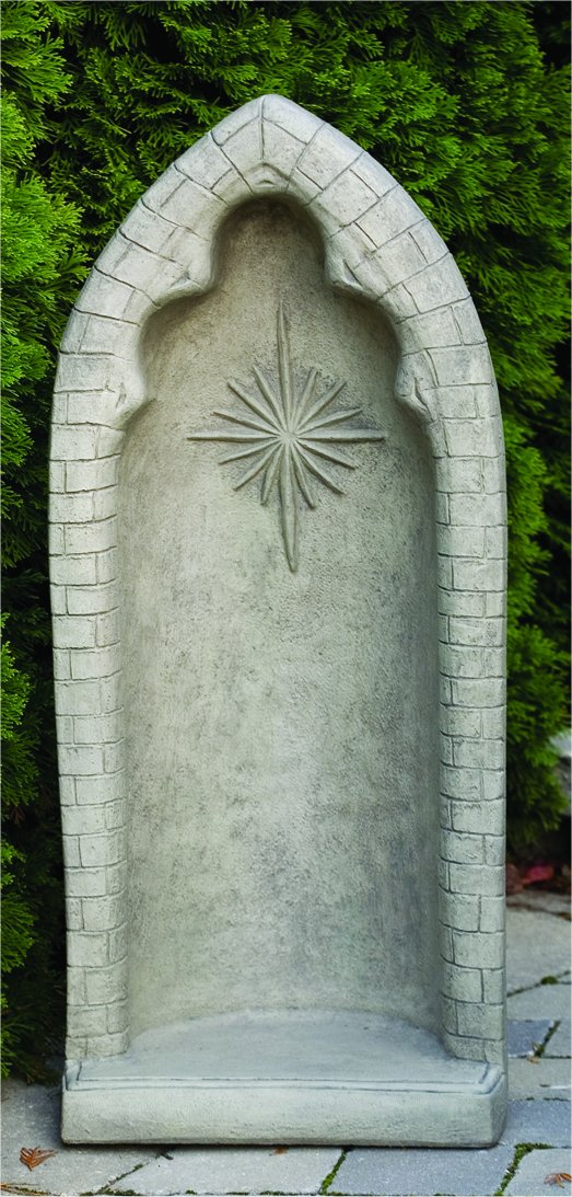 "Grotto Cement For 26"" Statues Star Decoration"