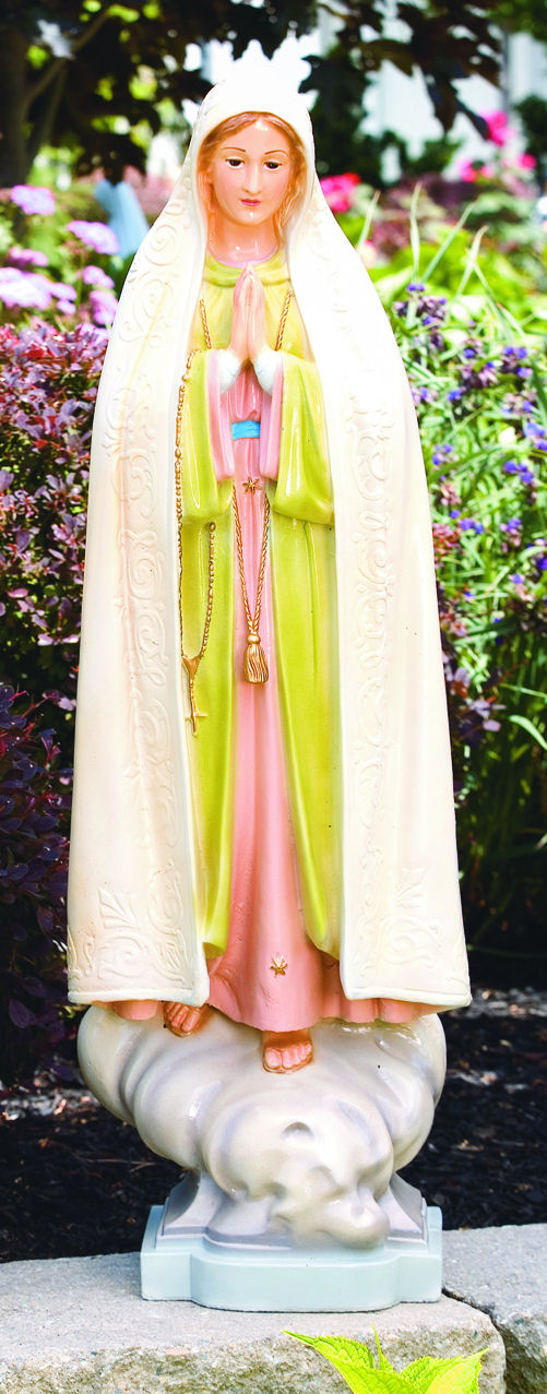 Our Lady Of Fatima Garden Statue 34 Quot High