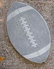 Football Stepping Stone or Plaque