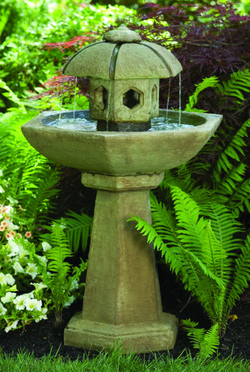 Spring Rain Pagoda Water Fountain