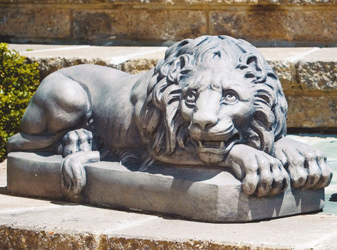 Lion Vatican Sculptures By Antonio Canova Replica