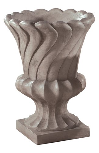 Layered Leaf Urn Contemporary Garden Planter