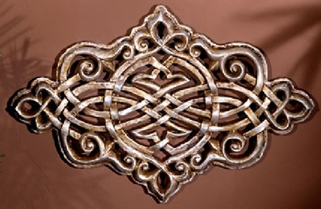Persian Grille Lavish Wall Hanging Architectural Decor