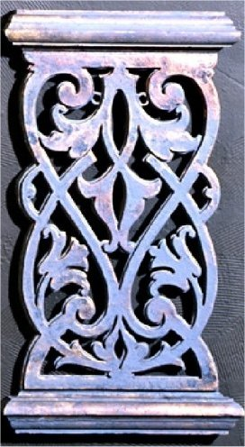 Balcony Grille B Wall Decor