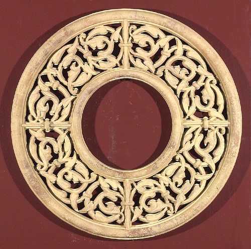 Lace Grille Wall Decoration High-Relief Sculpture