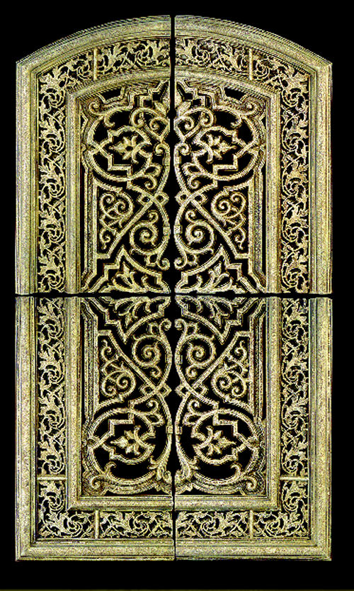 Persian Garden Gate Wall Hanging