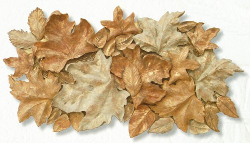 Foliage Collage Large Leaves Wall Hanging