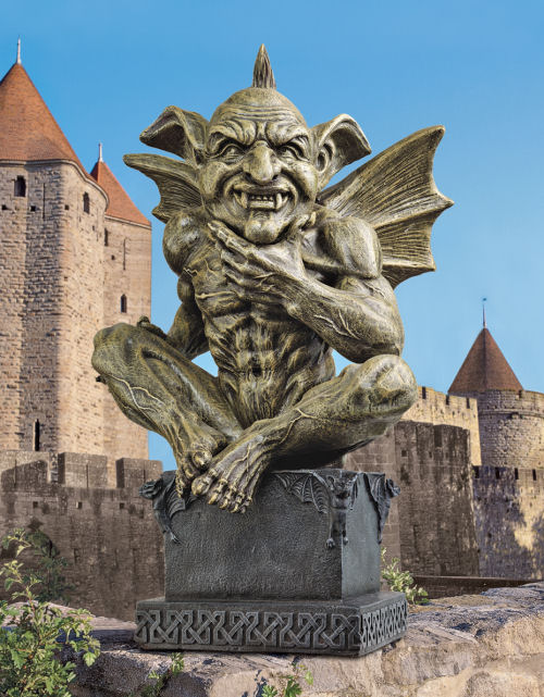 Beelzebub The Prince Of Demons Gargoyle Sculpture