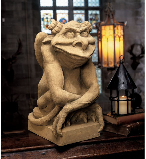 Oscar The Gargoyle With Attitude Sculpture Large