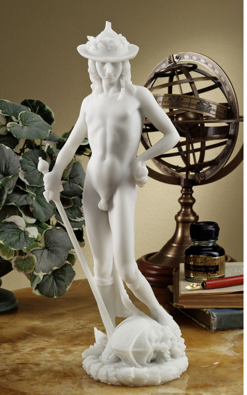 David By Famous Sculptor Donatello Sculpture