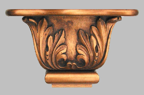 Scroll Leaf Shelf Wall Bracket