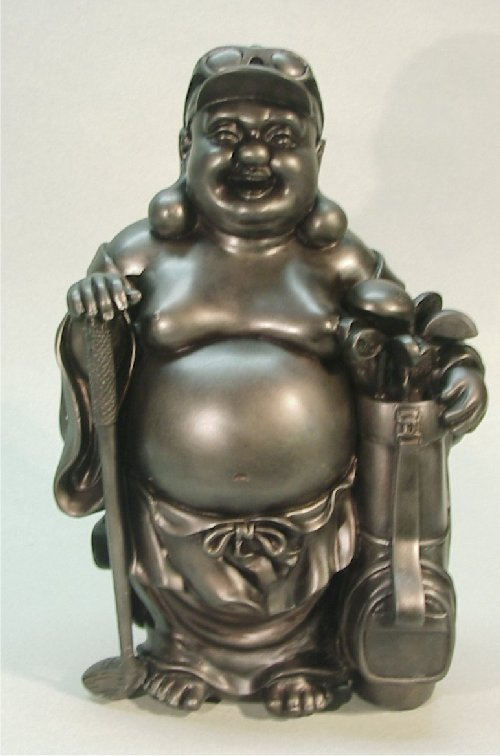 Golf Buddha Of Good Fortune Statue Japanese God