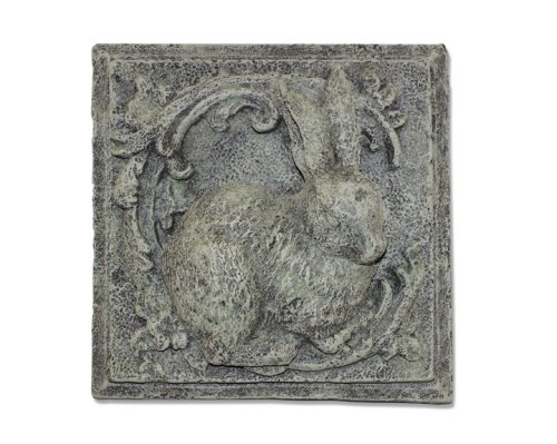Bunny Keysafe Wall Plaque Stepping Stone Sculpture