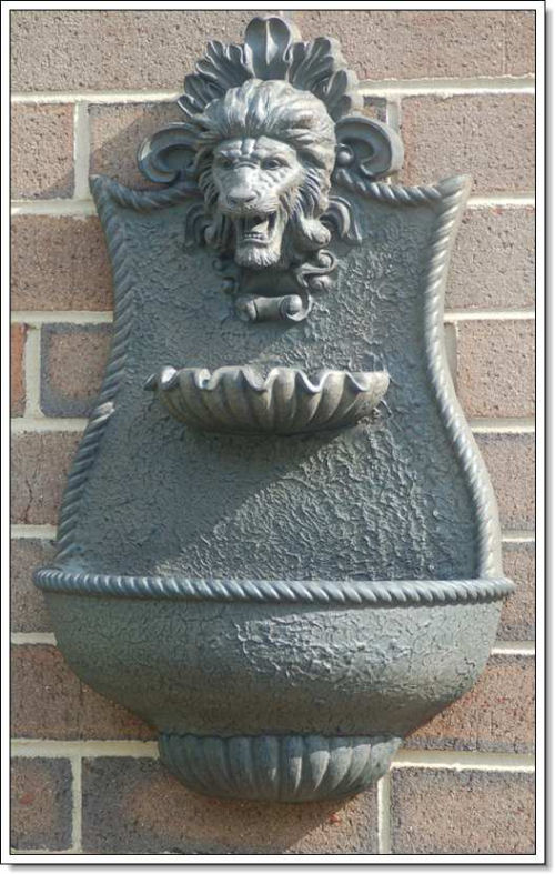 Traditional Wall Lion Fountain