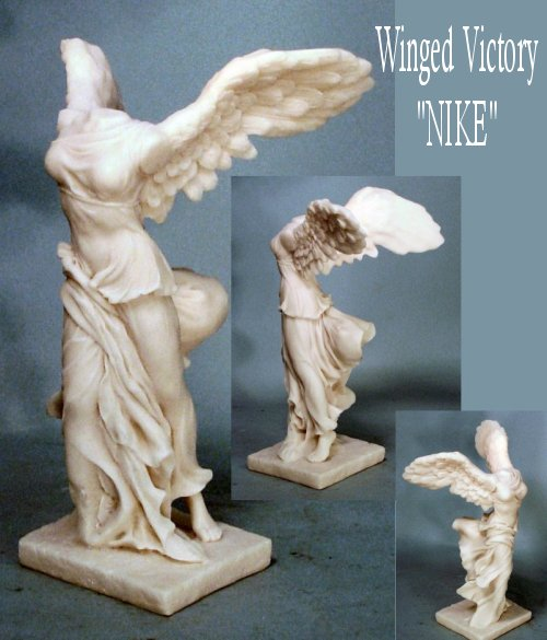Nike Of Samothrace Winged Victory Sculpture Reproduction