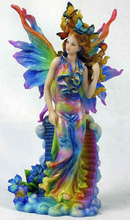 Iris Statue Keeper Of The Rainbow Scultpure