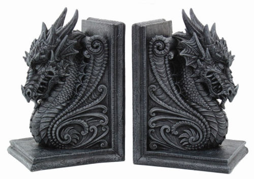 Dragon Guardians Bookend Set