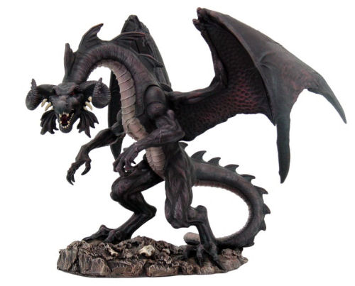 Black Dragon of the North Sculpture