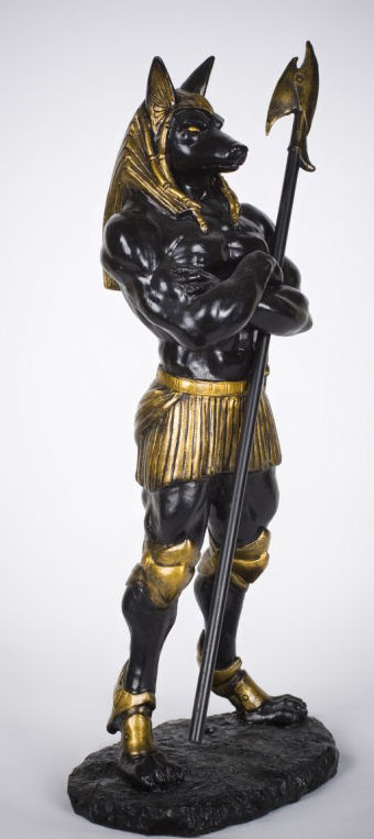 Anubis Guardian Sculpture