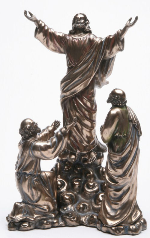 Ascension of Christ Sculpture Catholic Statue Bronze