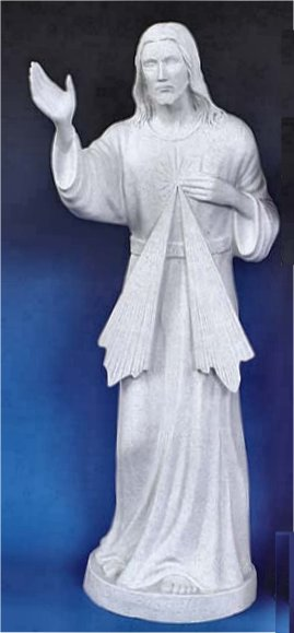 Jesus Of Divine Mercy Statue