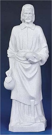 Saint Joseph The Worker Carpenter Classical Sculpture